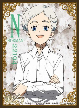 キャラクタースリーブ 約束のネバーランド  ノーマン [EN-997]