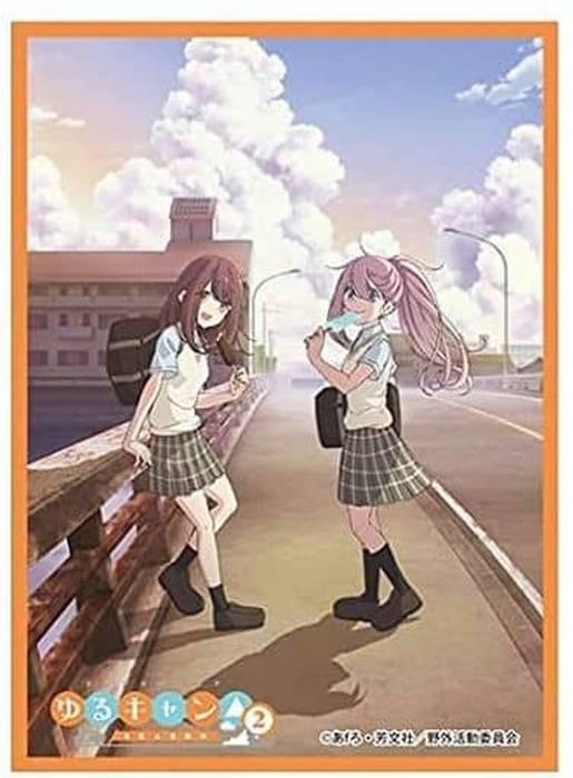 きゃらスリーブコレクション マットシリーズ ゆるキャン△ Season2  なでしこ&綾乃  [No.MTMT1046]