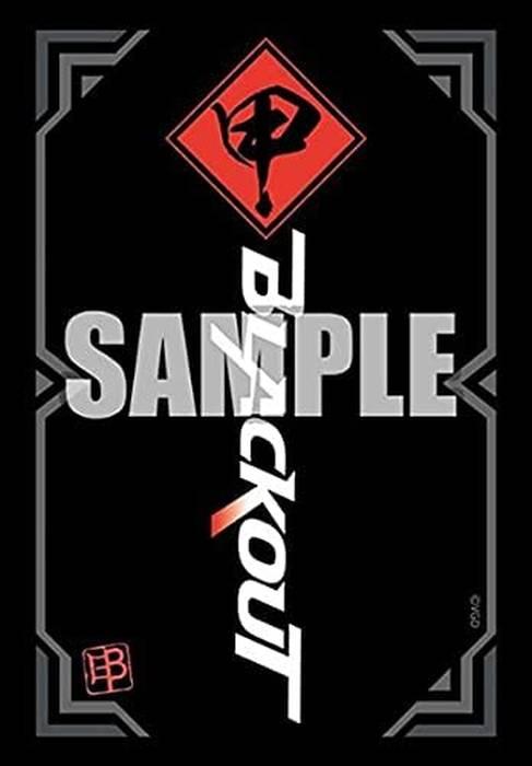 ブシロードスリーブコレクション ミニ カードファイト!! ヴァンガード overDress  Vol.516  『チームブラックアウト』ブラックver.